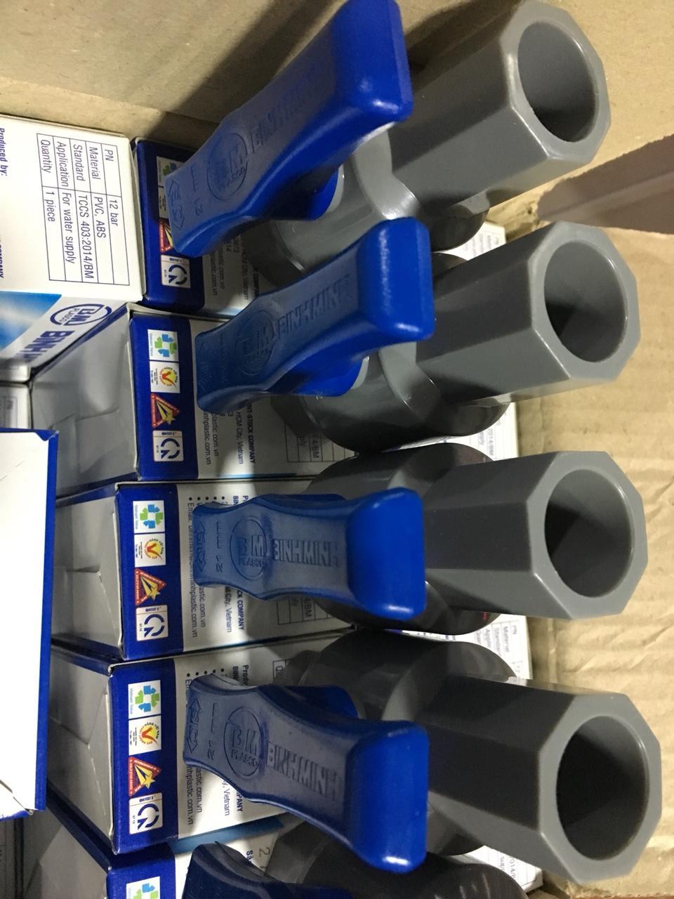 Hình ảnh Bộ 5 van nhựa PVC 27 Bình Minh