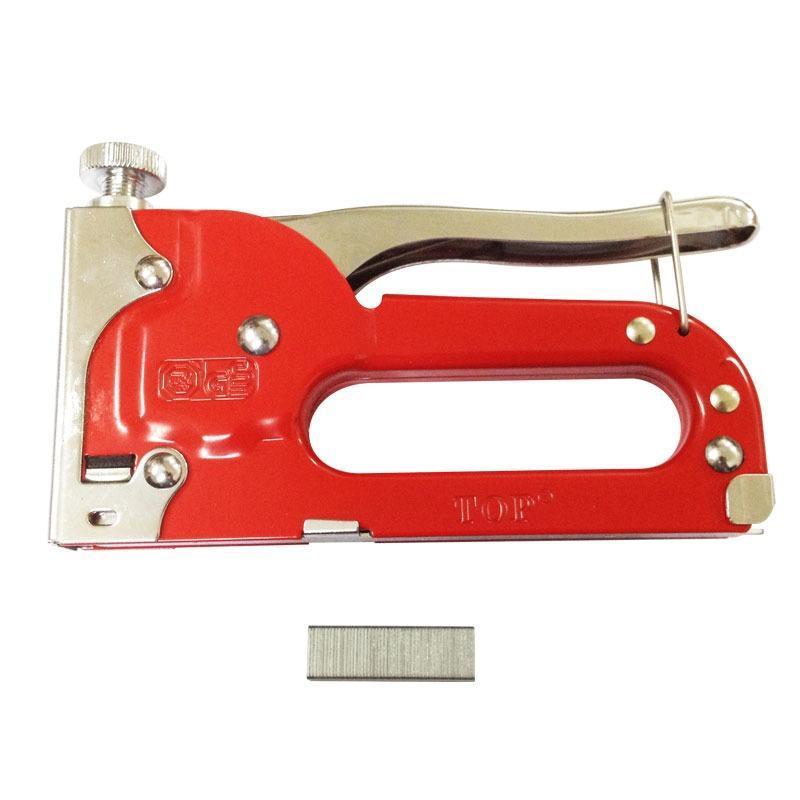 Kìm bấm đinh ghim U 4-8mm màu đỏ TOP TST-50011