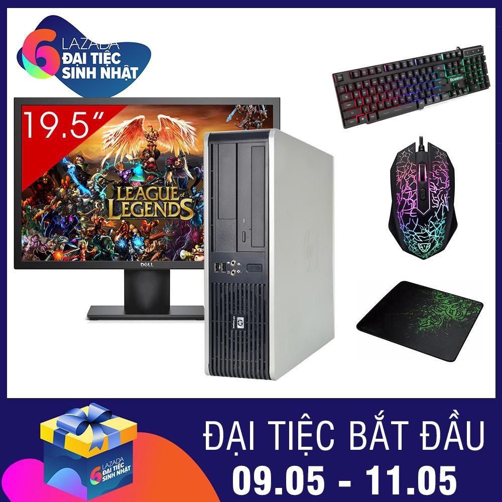 Ôn Tập Tốt Nhất May Tinh Để Ban Hp Dc 5800 Sff Man Hinh Dell 19 5Inch Core 2 Duo E7500 Ram 2Gb Hdd 160Gb Qua Tặng Hang Nhập Khẩu