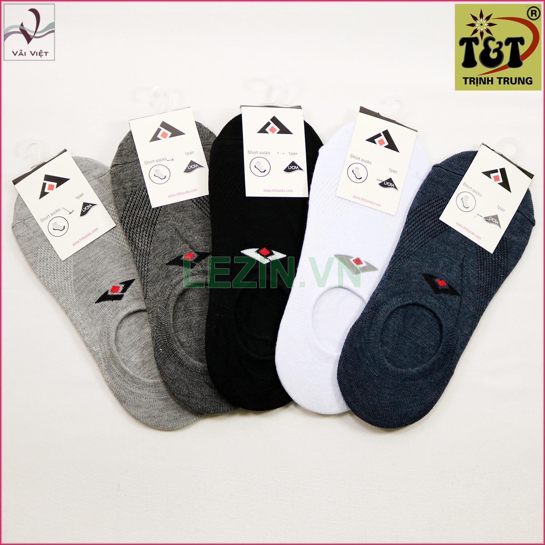 Bộ 5 đôi vớ lười nam T&T Trịnh Trung-Hãng phân phối chính thức