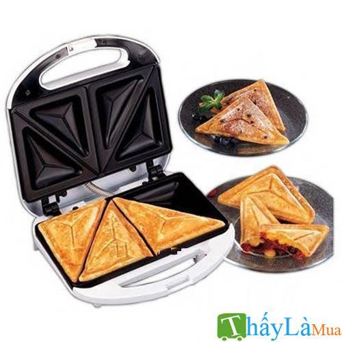 Hình ảnh Máy nướng bánh mì tam giác Nikai