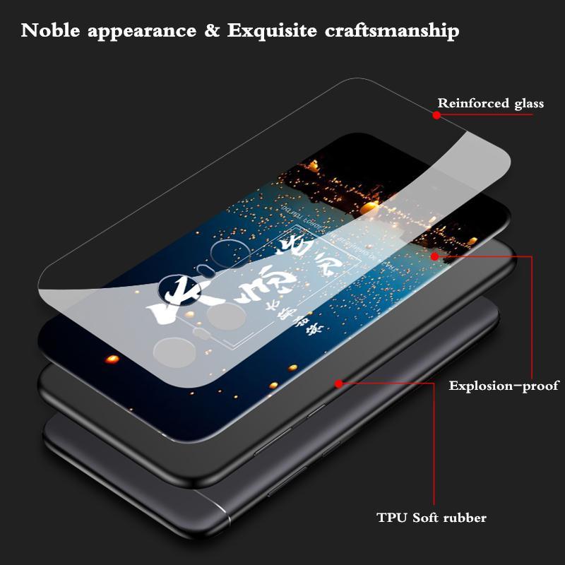 Detail Gambar GKK Sarung untuk Xiaomi Redmi 5 Plus Cover Kaca Antigores Silikon Lembut Tpu Perlindungan