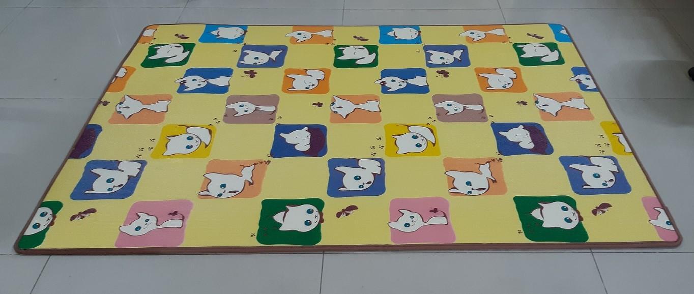 Hình ảnh Thảm chơi 2 mặt Hàn Quốc cho bé Power Monster