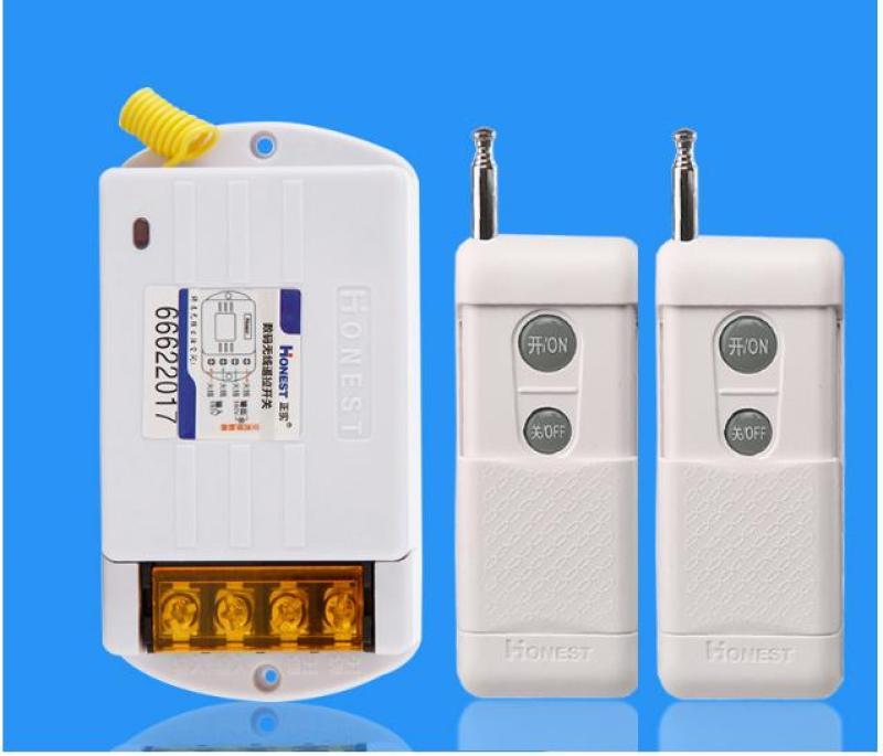 (2 remote) Công tắc điều khiển từ xa công suất lớn Honest HT-6380KG
