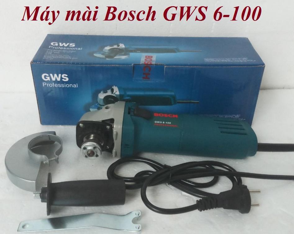 Máy mài Bosch GWS 6-100 hàng liên doanh Đức