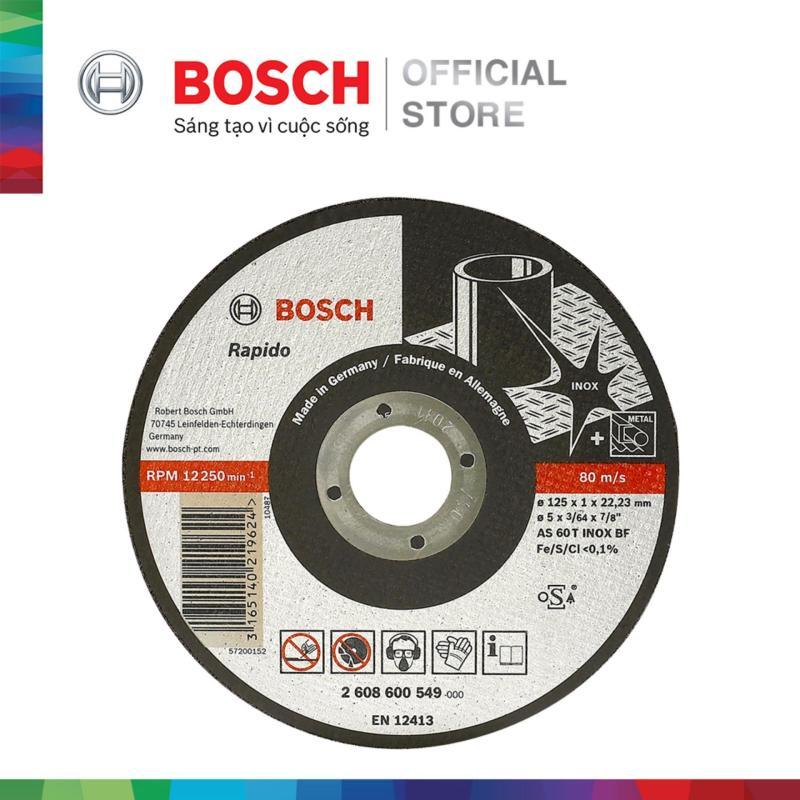Đá cắt Bosch 125x1x22.2mm (Inox)