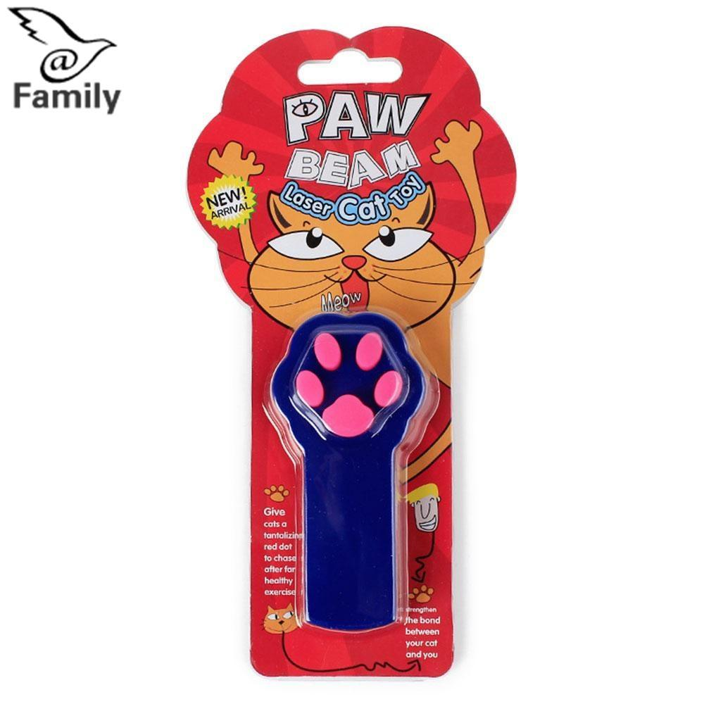 Hình ảnh Big Family: Cat Teaser Laser Light Infrared Toy Gift Stick Game Playing Tease Kitten Joke Trick Pink - intl