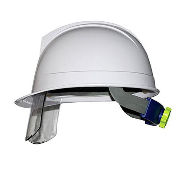 mũ bảo hộ KUKJE màu trắng có kính | mũ bảo hộ lao động Hàn Quốc | mũ bảo hộ công trường | mũ bảo hộ có kính