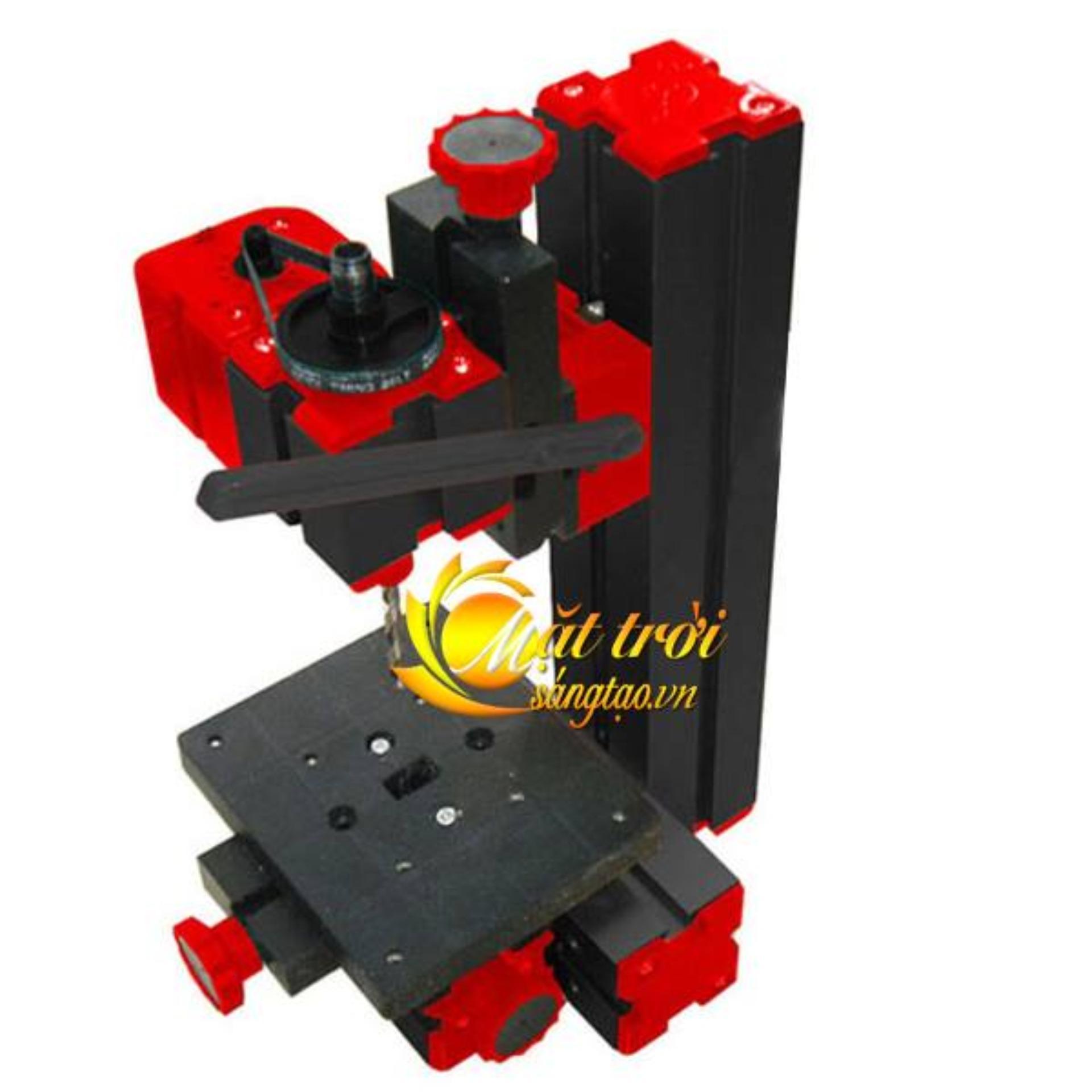 Bộ công cụ gia công đa năng mini 6in1 ( cưa, mài, khoan, tiện gỗ, tiện kim loại, phay)