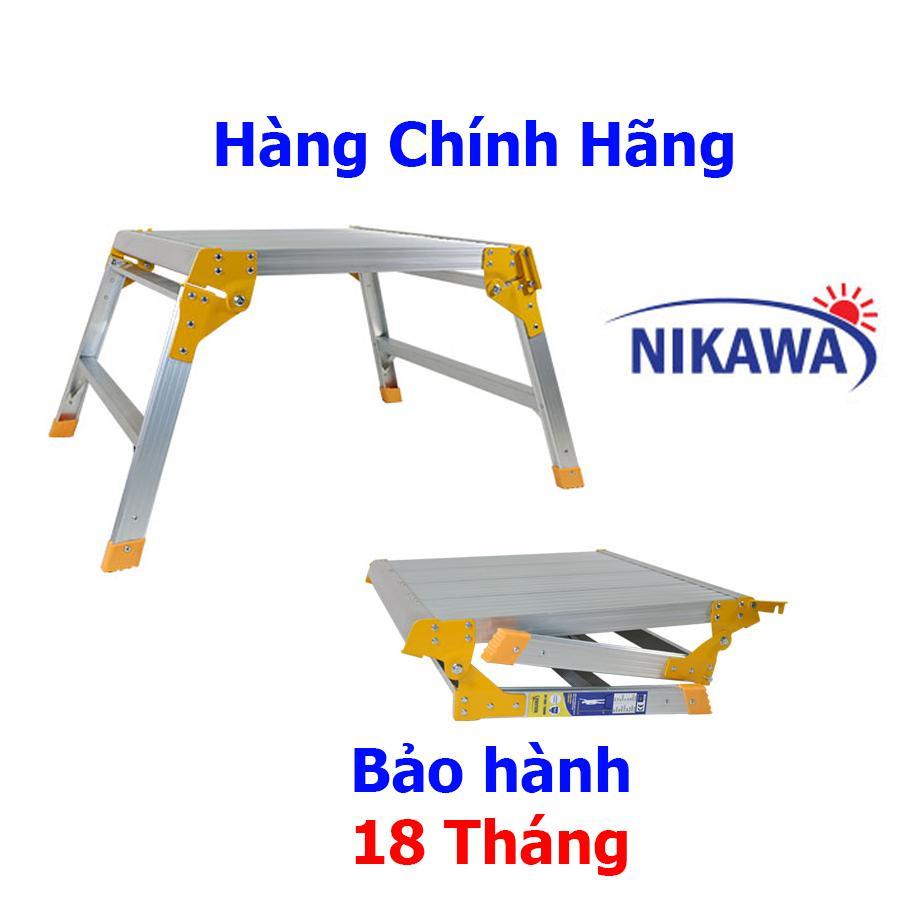 Thang Nhôm Bàn Nikawa NKC77 Nhật Bản - 3 bậc 77cm tải trọng 300kg