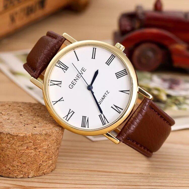 Hình ảnh Đồng hồ nam giá rẻ Geneve cá tính (Đủ màu)