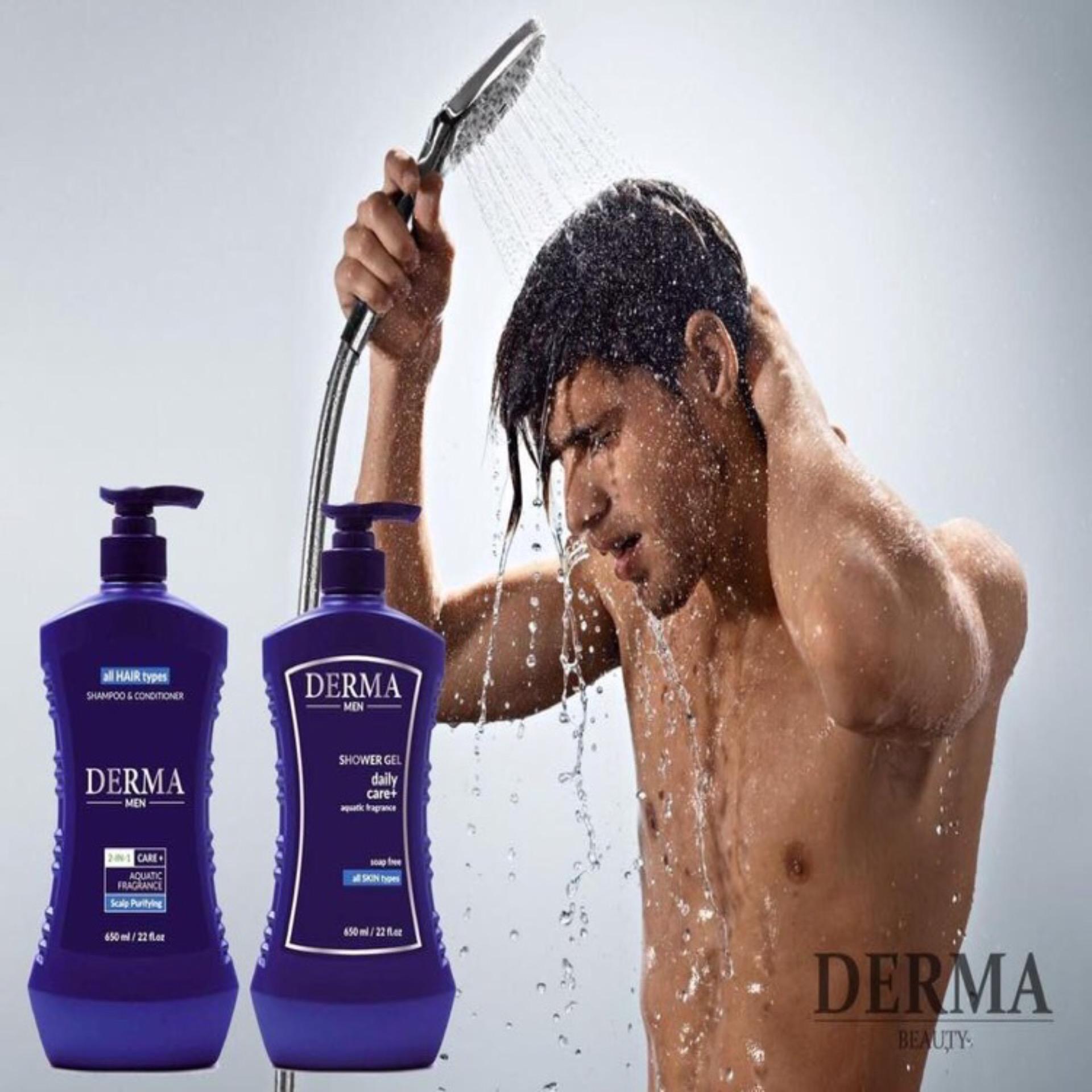 Sữa tắm dưỡng trắng da cao cấp độc quyền Damode Derma 650ml nam tốt nhất