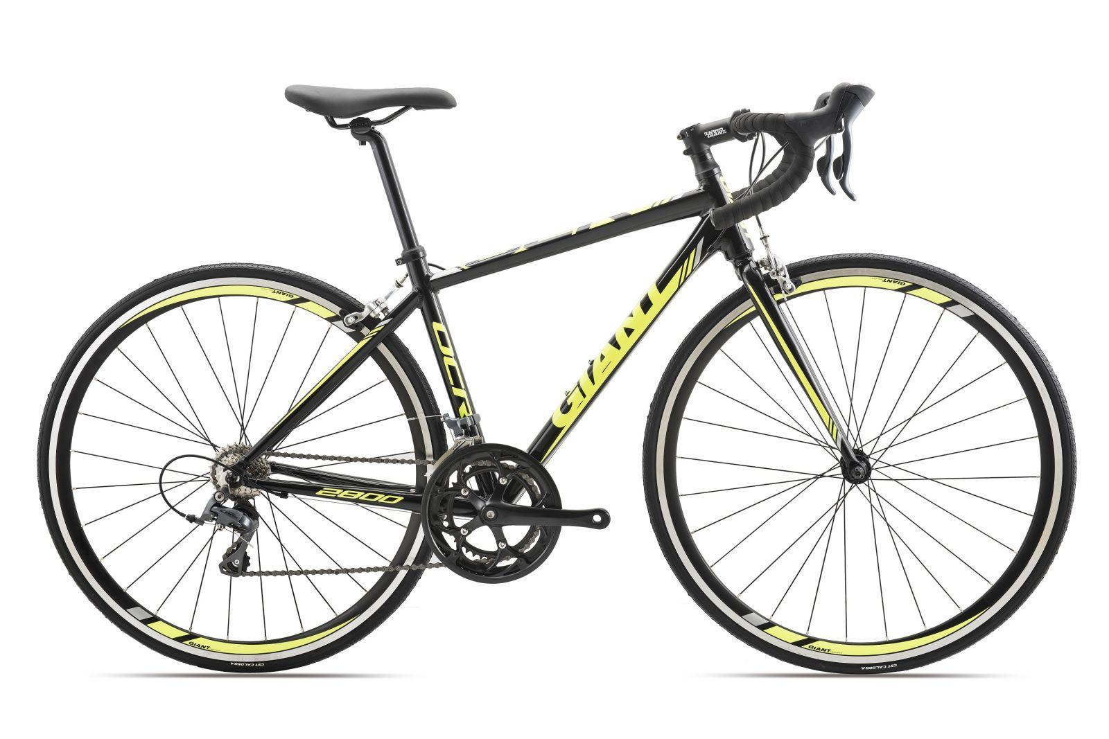 Xe đạp đua GIANT 2017 OCR 2800 đen xanh lá