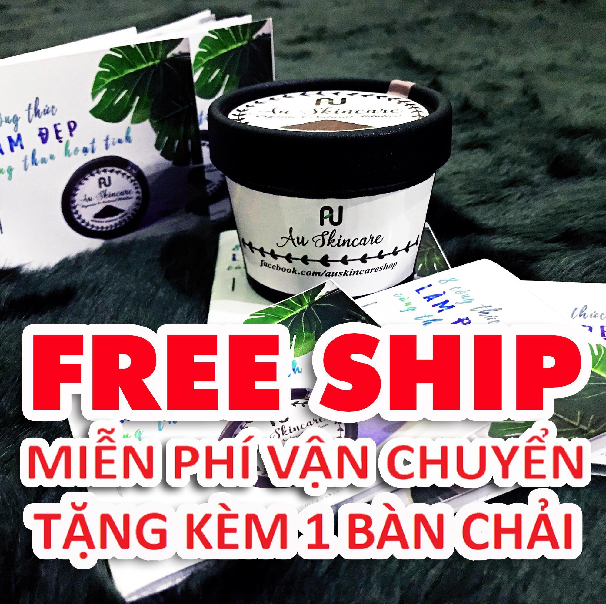 Hình ảnh FREE SHIP - Bột Trắng Răng Than Tre Hoạt Tính Không Ê Buốt Hộp 50gr - FREE SHIP