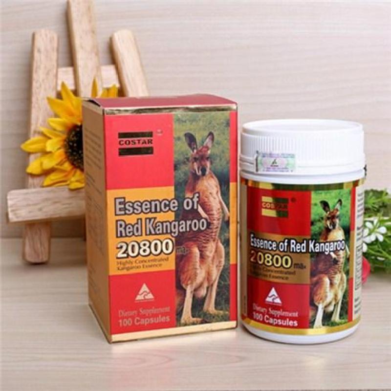 Viên uống hỗ trợ sinh lý COSTAR ESSENCE OF RED KANGAROO 20800 MAX 100 viên