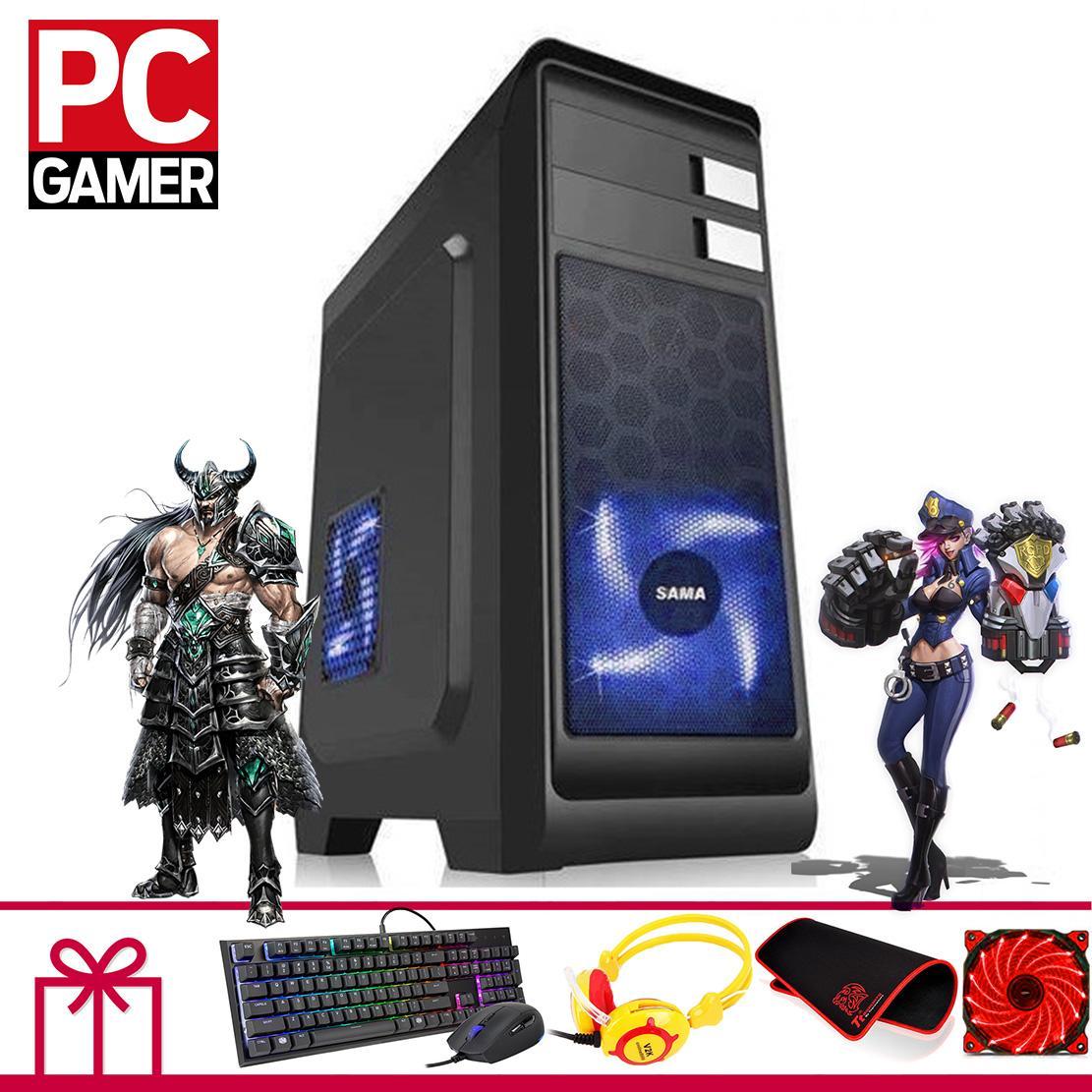 Hình ảnh Máy tính chơi Game Khủng (Core I3 4160, Ram 8GB, SSD 120GB, VGA GTX1050ti 4GB ) KH24GMA346+ Quà Tặng