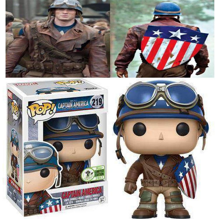 FUNKO POP ECCC Spring Limited Edition Captain America Hand Models Dolls 219
