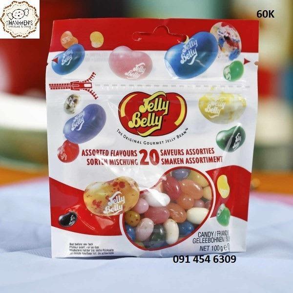 Hình ảnh Kẹo dẻo Jelly Belly 70g - mua 4 gói tặng máy bán kẹo