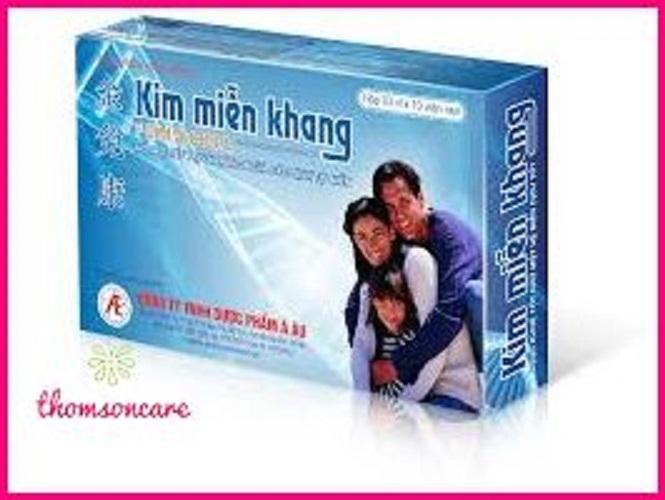 Hình ảnh Kim miễn Khang - hỗ trợ điều trị Vẩy nến , lupus ban đỏ Chính hãng 100%