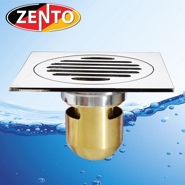 Hình ảnh Phễu thoát sàn chống mùi hôi Zento ZT559 (12cmx12cm)