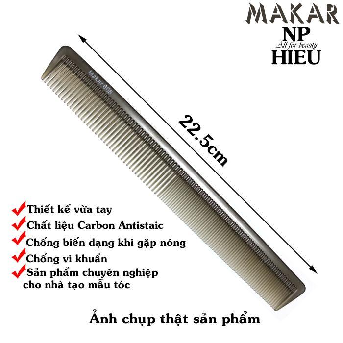 Hình ảnh Lược cắt tóc Makar 608
