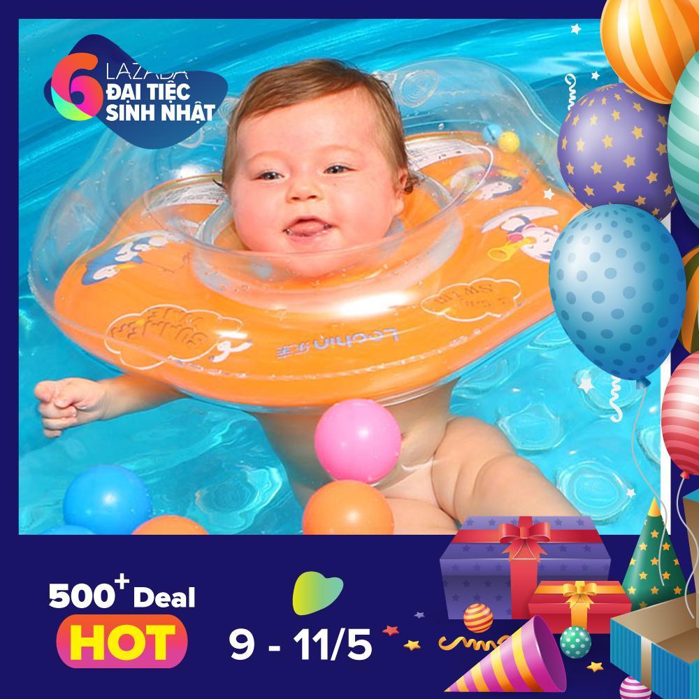 Hình ảnh Phao bơi đỡ cổ cho bé - Giao màu ngẫu nhiên