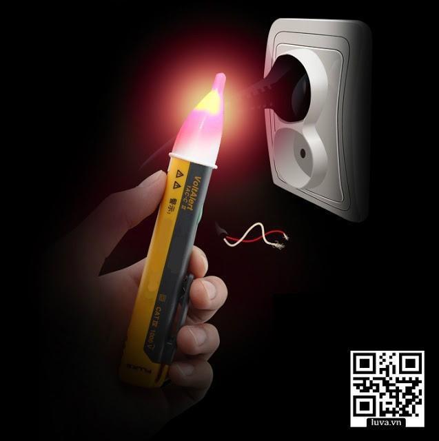 Bút thử điện cảm ứng,dò điểm đứt bên trong dây điện