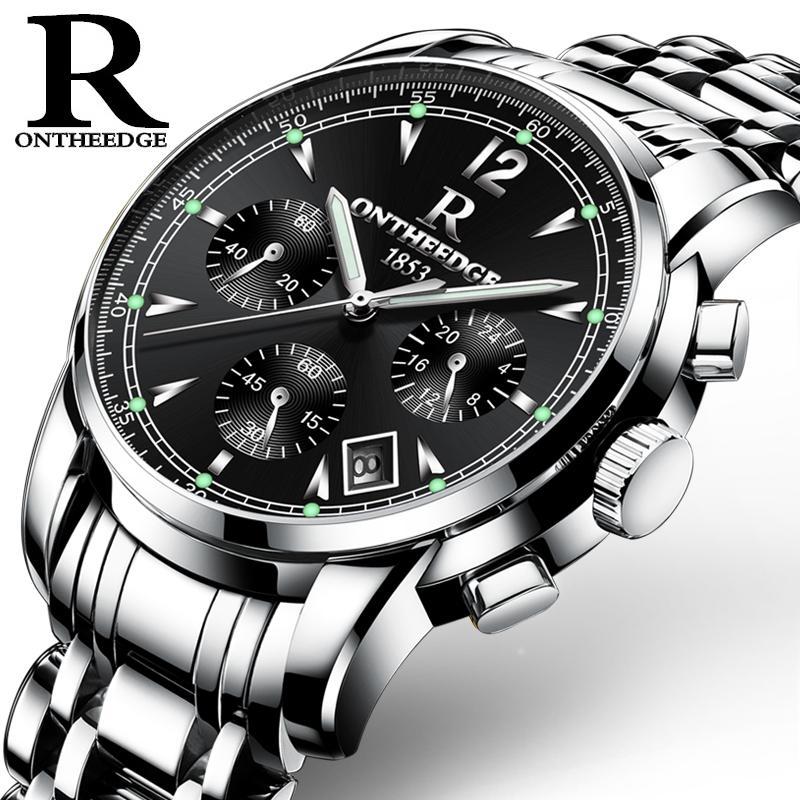 Rontheedge Men S Luminous Waterproof Watch