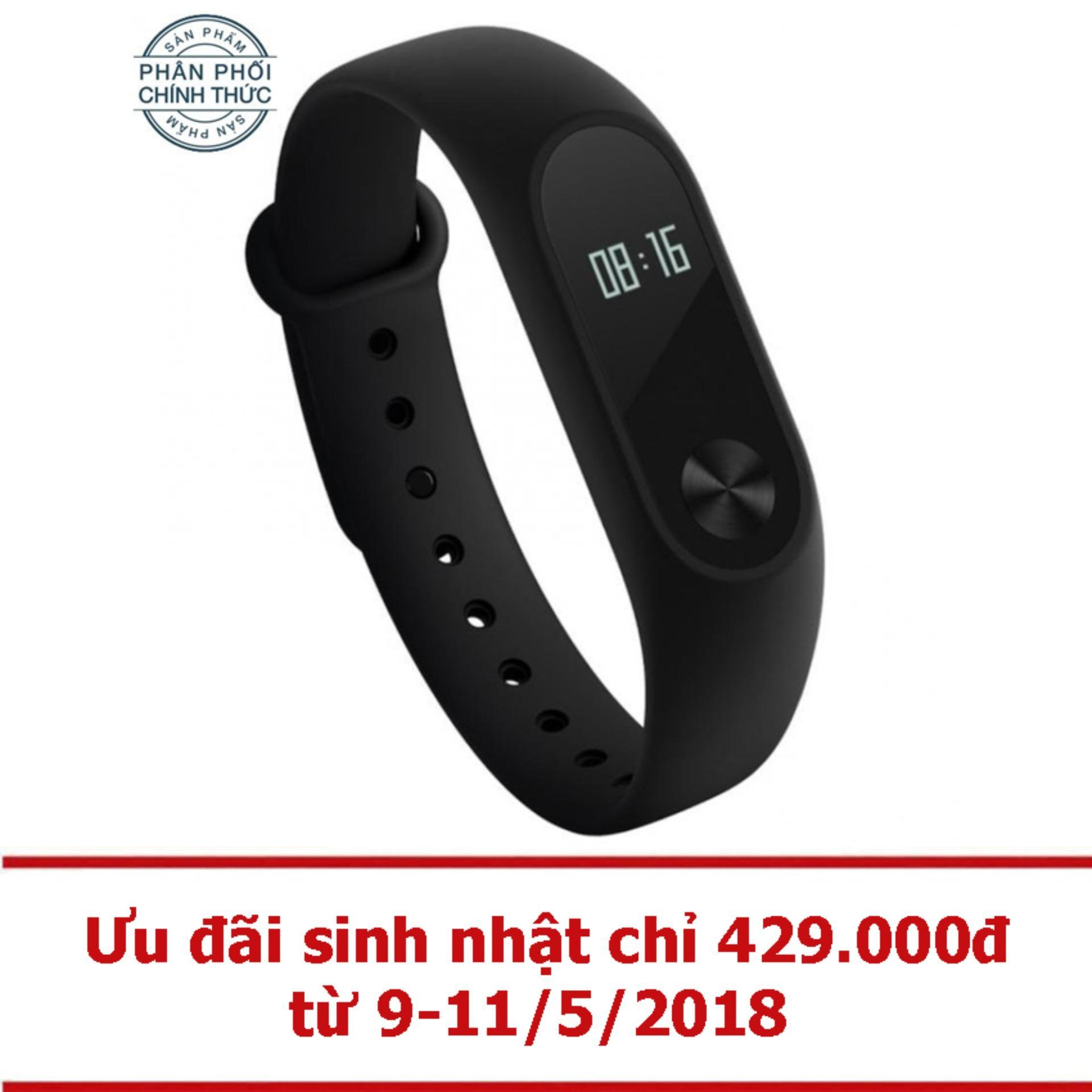 Giá Bán Vong Đeo Tay Xiaomi Miband 2 Đen Hang Phan Phối Chinh Thức Trực Tuyến Hồ Chí Minh