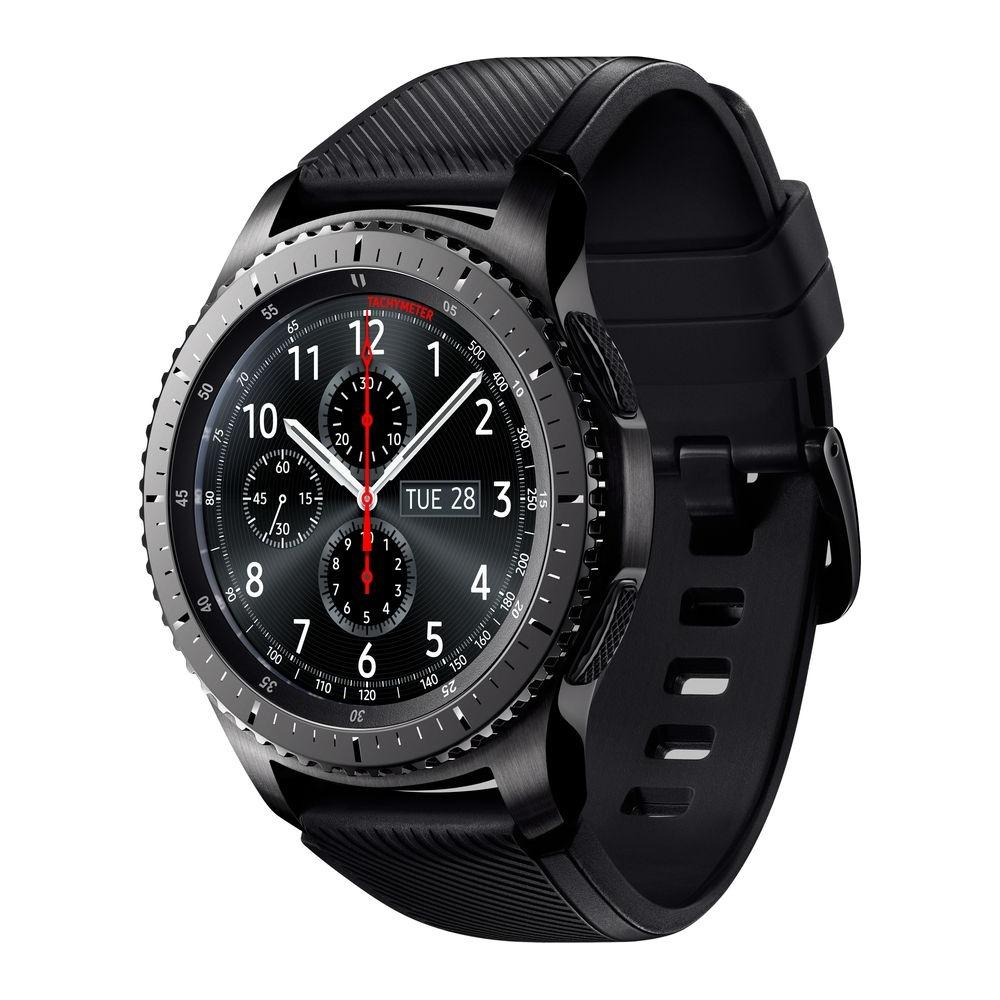 Đồng hồ thông minh Samsung Galaxy Gear S3 Frontier Dark Gray R760 - Hãng Phân phối chính thức