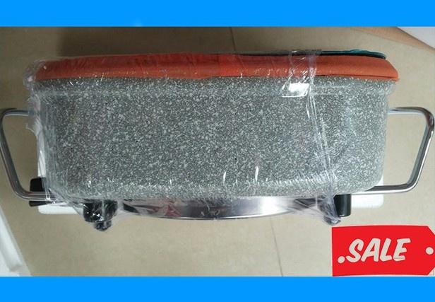 Chảo lẩu điện đá hoa cương Misushita MS-0360 13