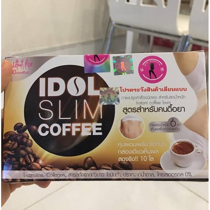 Cà Phê Giảm Cân IDOL SLIM Coffee Thái Lan - Hộp 10 gói x 15g