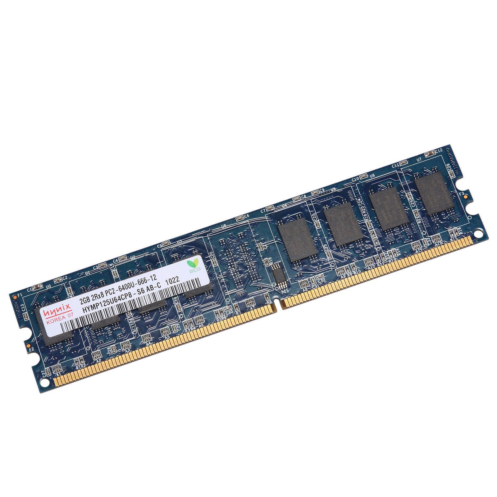 Hình ảnh Ram Máy Tính DDR2 2GB Bus 800Mhz - Hàng nhập khẩu