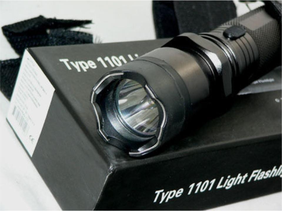 Hình ảnh Đèn pin phòng vệ siêu sáng 1101 du lịch dã ngoại, BH 1 đổi 1 có clip test