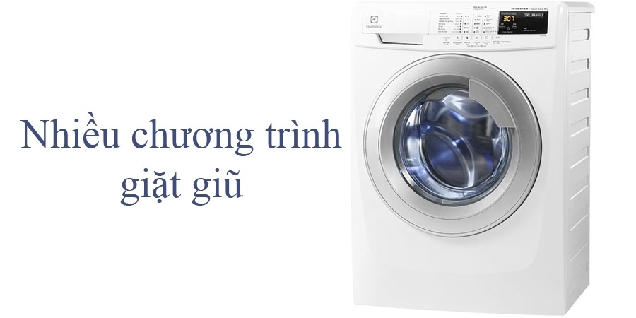 Mua máy giặt ở đâu tốt? Máy giặt Electrolux EWF12844 8 kg