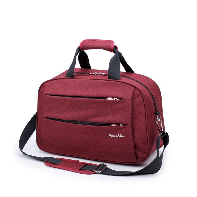 New Style Travel Bag Male Large Capacity Luggage Short Trip Tour Package Female Simple Handbag Business Trip Korean Style Travel Bag