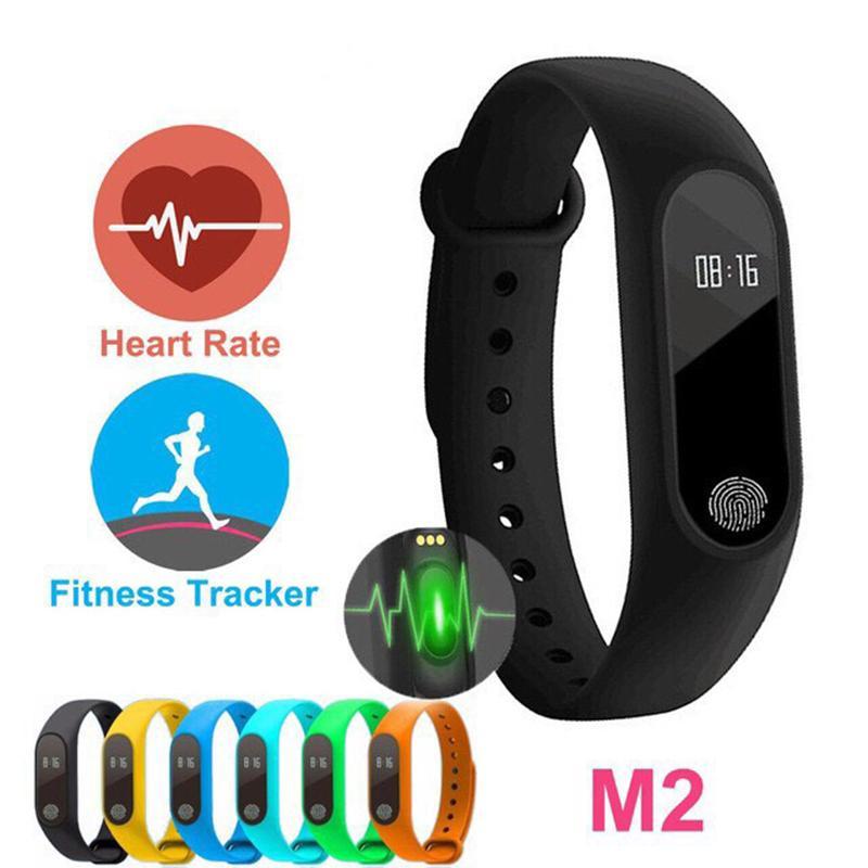 Hình ảnh Vòng đeo tay thông minh Smart M2 theo dõi sức khỏe (Bảo hành 1 năm)