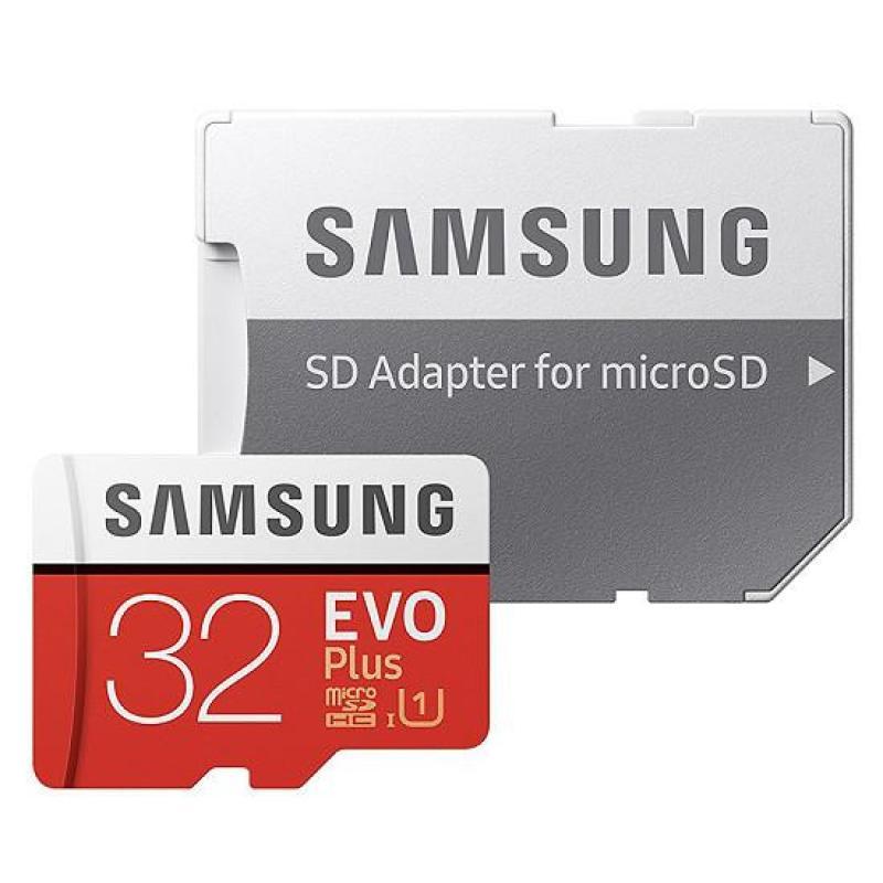 Thẻ nhớ Samsung Evo Plus 32GB 95M/s - Tặng kèm Adapter