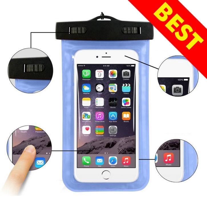 Hình ảnh Bao, túi đựng điện thoại chống nước đi biển, bể bơi