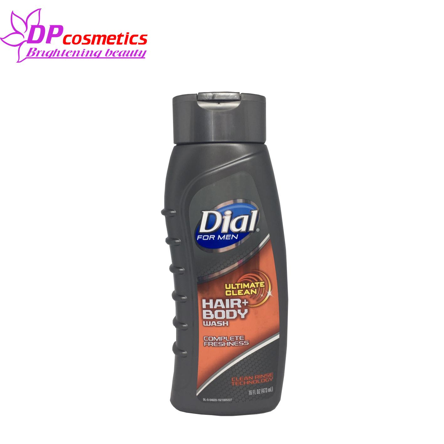 Tắm Gội Dial For Men Ultimate Clean Hair & Body Wash