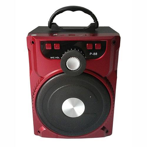 Hình ảnh Loa bluetooth, karaoke P-88 (kèm mic)