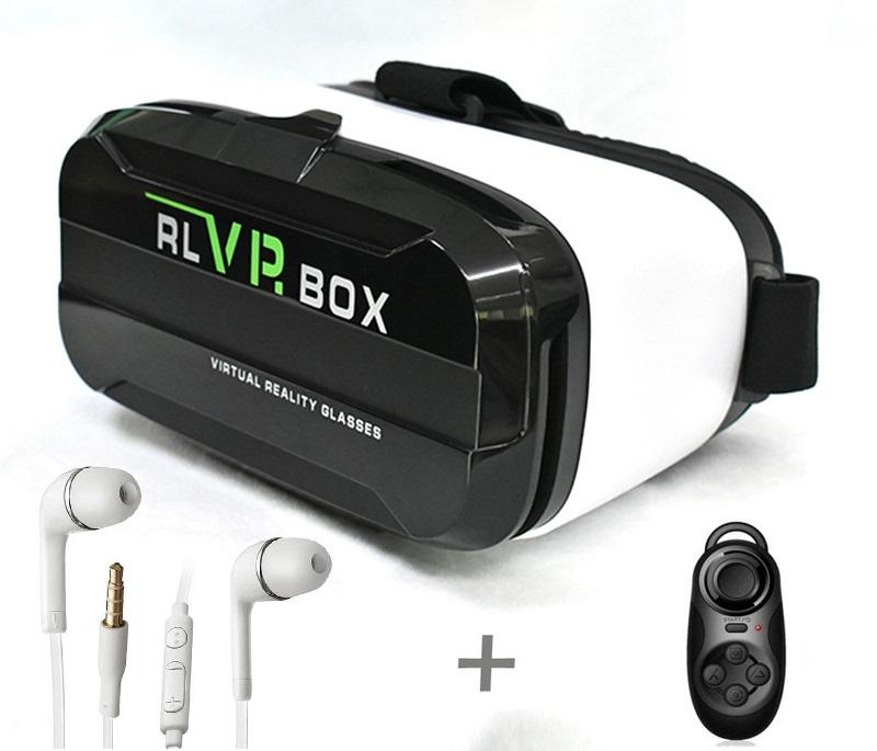 Hình ảnh Kính thực tế ảo Vr Box RL 2 và Tay cầm chơi game Android Bluetooth 3.0 tặng tai nghe S4