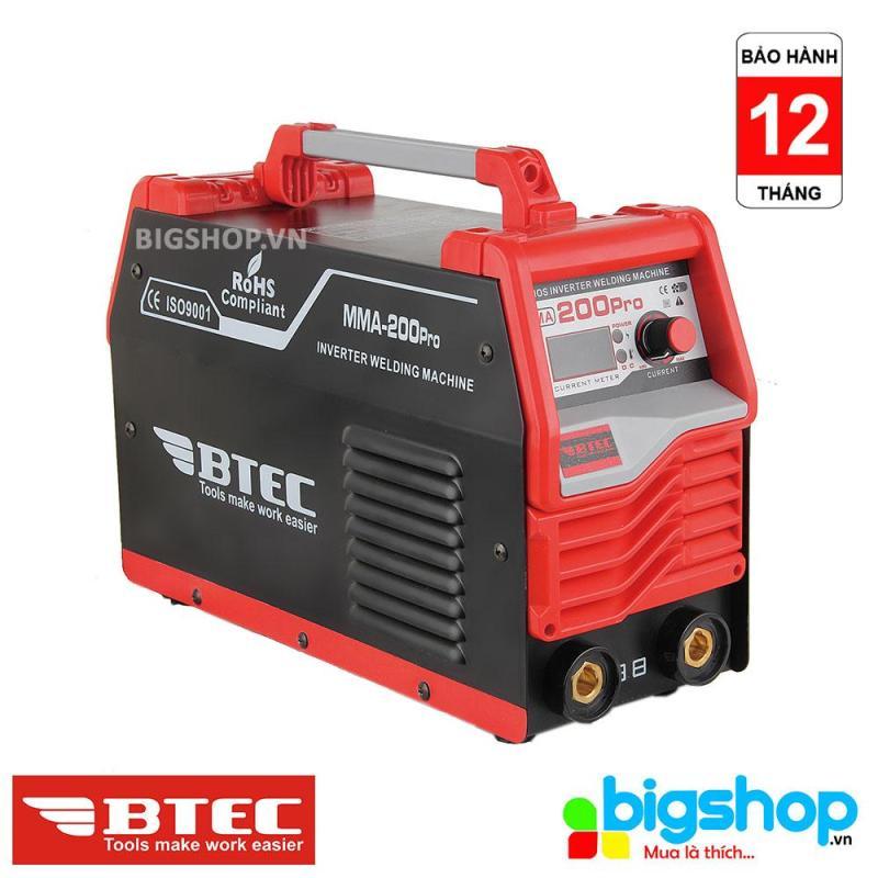 Máy hàn Inverter BTEC mã MMA-200 Pro
