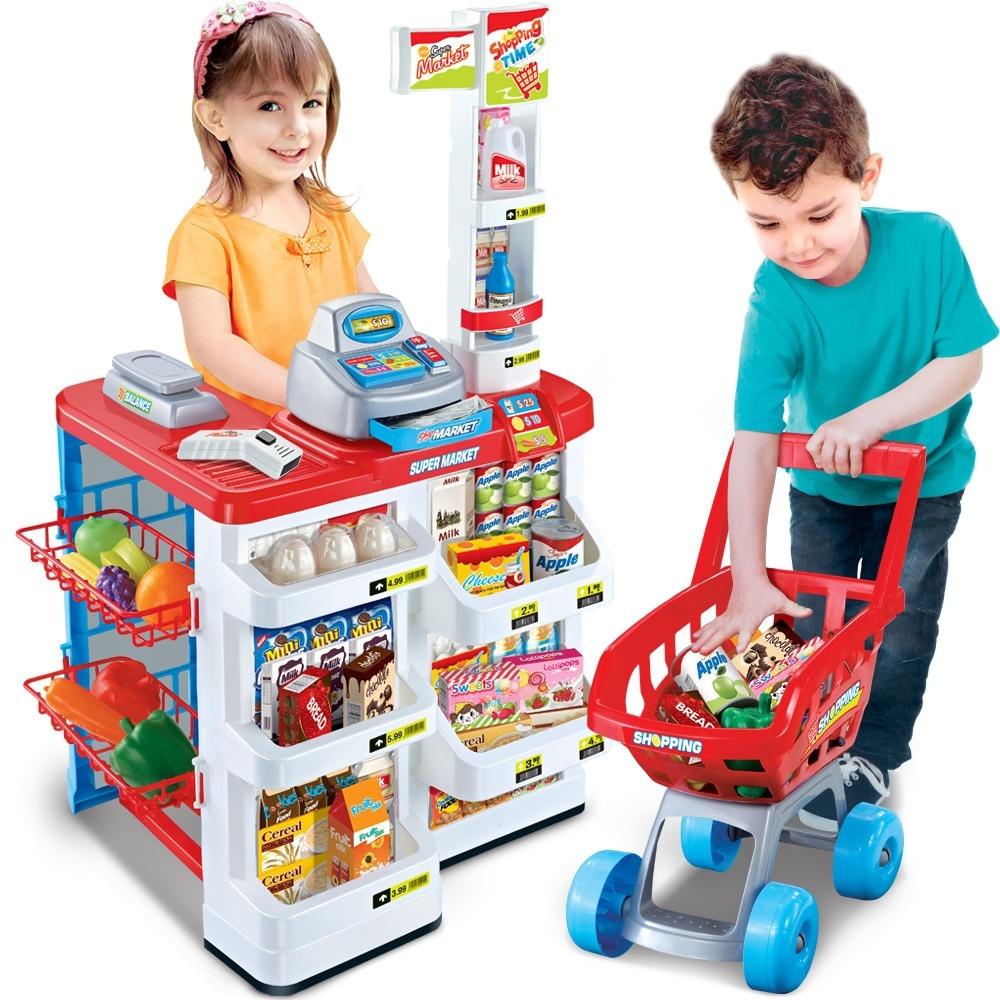 Bộ thu ngân xe đẩy siêu thị 1
