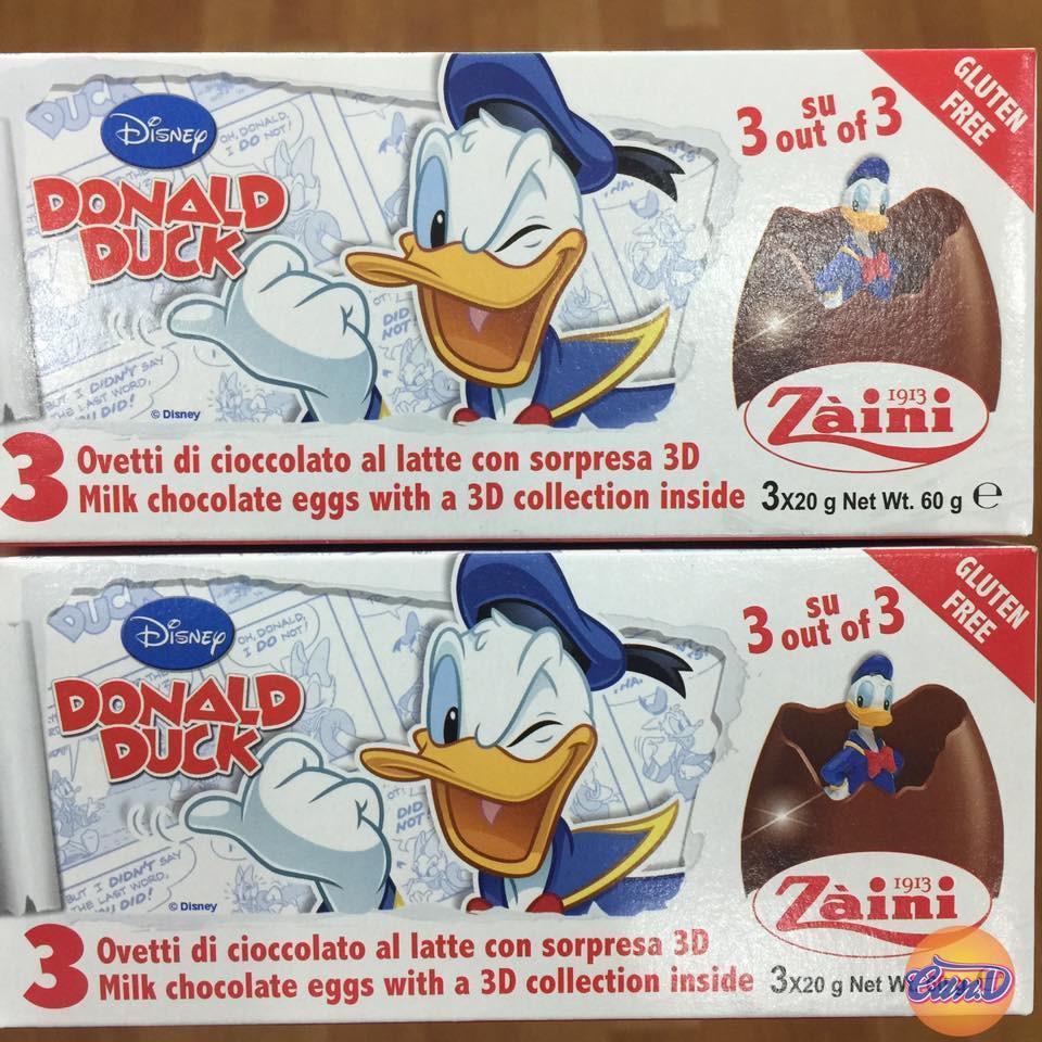 Hình ảnh Trứng Chocolate đồ chơi Zaini Donald Duck