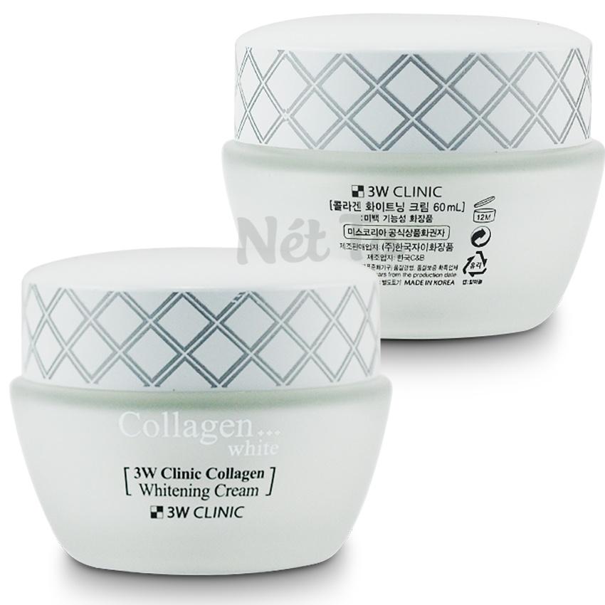 Bộ dưỡng trắng da 3W Clinic Collagen White - Hàn Quốc