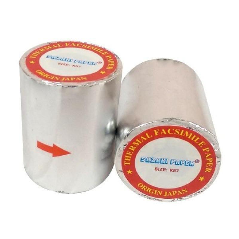 Giấy in hóa đơn nhiệt (giấy in bill) khổ 80*45mm, bọc bạc chống ẩm, bảo hành 12 tháng