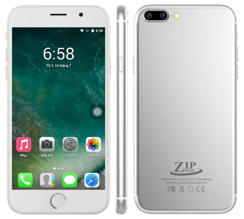 ZIP8 - Màu bạc