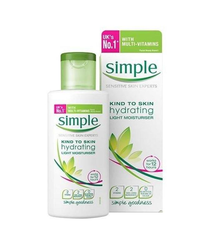 Kem dưỡng da Simple Kind To Skin Hydrating Light Moisturiser