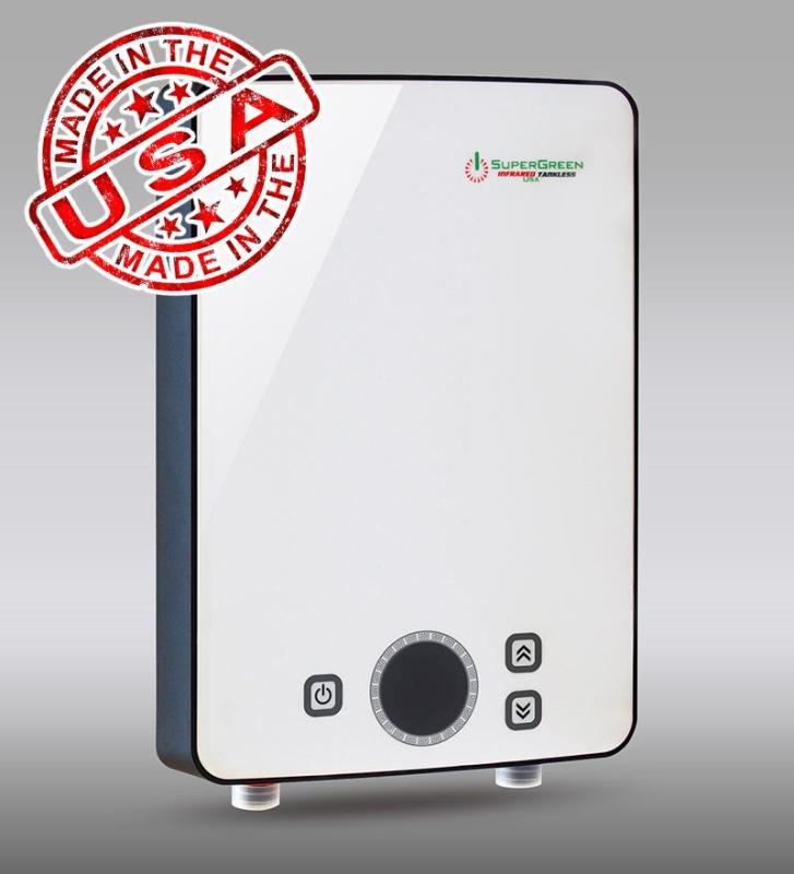 Bảng giá Máy tắm nước nóng hồng ngoại SuperGreen IR-234 (Trắng) nhập khẩu USA
